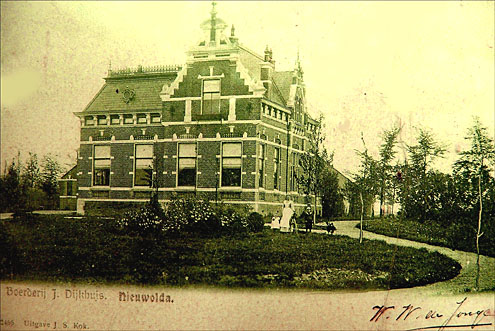 Hoeve Ceres rond 1900