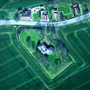 Hoeve Ceres luchtfoto